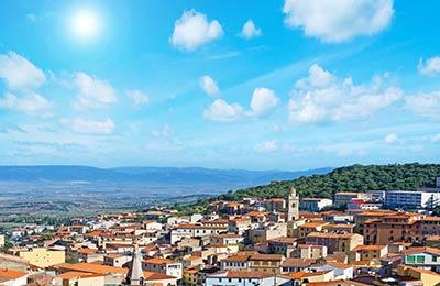 Trajekt z Arbatax do Cagliari