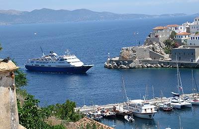 Trajekt z Pireus do Spetses