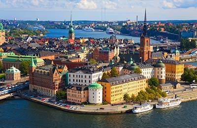 Trajekt z Mariehamn do Stockholm