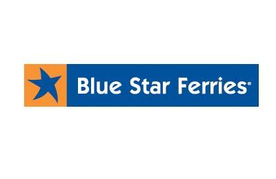 Blue Star Ferries  trajektem