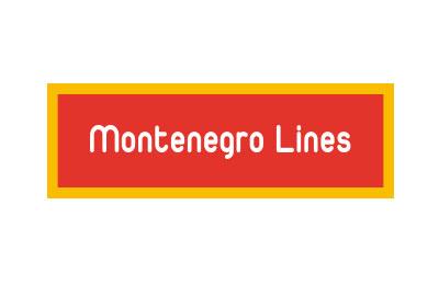 Montenegro Lines trajektem