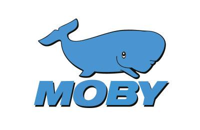 Moby Lines Ferries trajektem