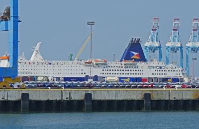 Přístav Zeebrugge